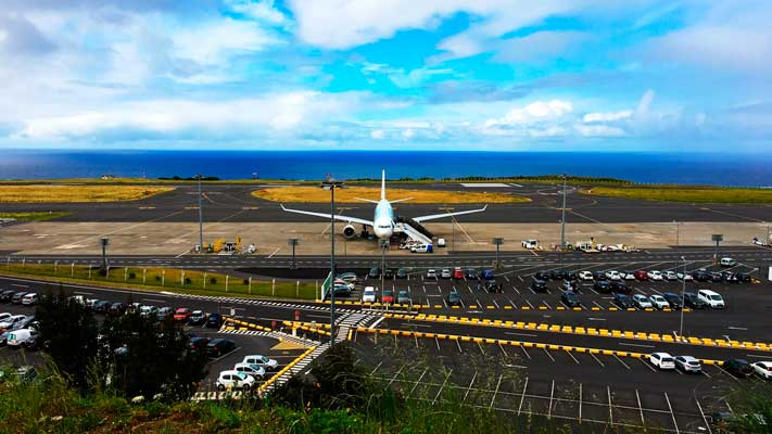 Ponta Delgada Airport is the main international airport of the Azores archipelago.